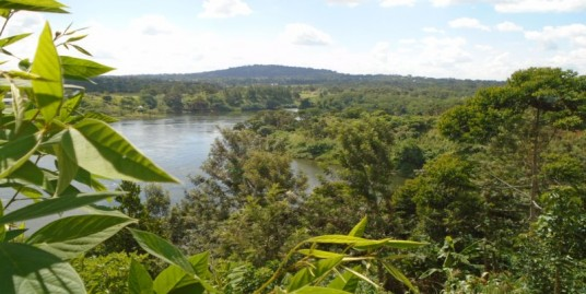 4 Acre Land with view of the Nile River, Jinja, Budondo Road