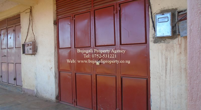 For Sale: Commercial Shop (Lock-up) with condominium Title in Jinja Town