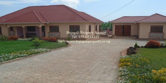 FOUR BEDROOM HOME FOR RENT AT NJERU NEAR JINJA TOWN