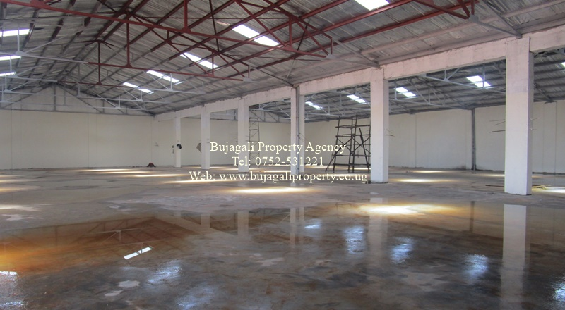 COMMERCIAL WAREHOUSE FOR RENT IN JINJA UGANDA