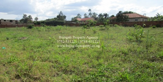 100FT X 100FT PLOTS FOR SALE AT BUJOWALI NJERU