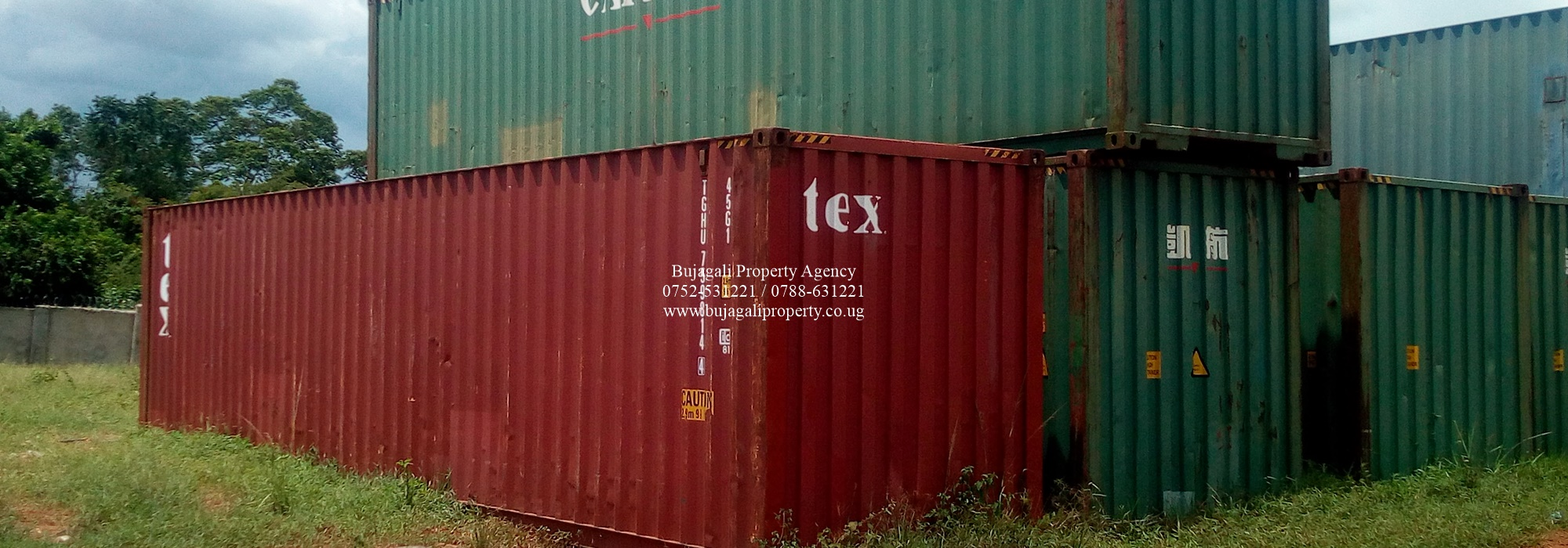 40FT PRIVATE STANDARD CONTAINER FOR SALE