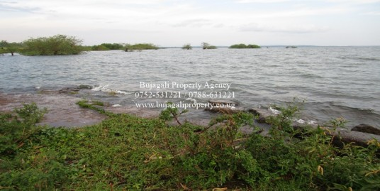 JINJA LAND FOR SALE TOUCHING LAKE VICTORIA SHORES