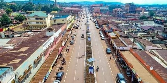 OLD COMMERCIAL PROPERTY FOR SALE ON JINJA MAIN STREET