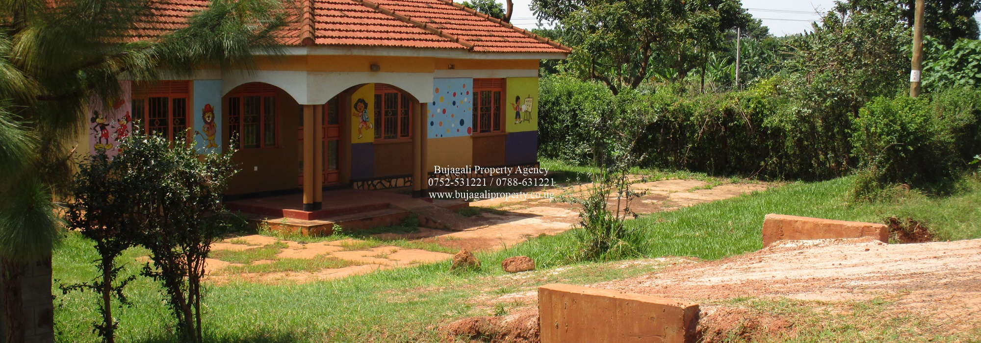 HOME FOR RENT / SALE ALONG THE ROAD AT BUKAYA JINJA