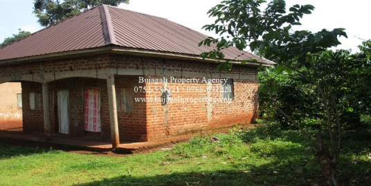 PLOT FOR SALE WITH A SMALL HOUSE AT BUWENDA JINJA