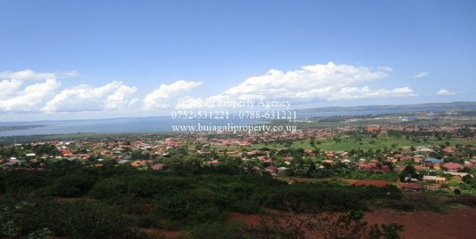 1.4 ACRE LAND FOR SALE AT BUGEMBE WITH LAKE VIEWS