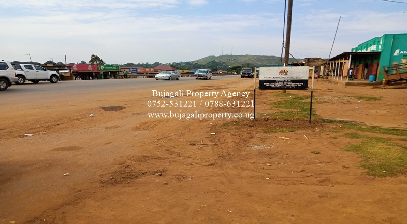 COMMERCIAL PLOT FOR SALE AT MAGAMAGA ALONG JINJA IGANGA ROAD