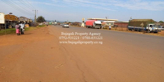 COMMERCIAL PLOT ALONG JINJA ROAD AT MBIKO TRADING CENTER