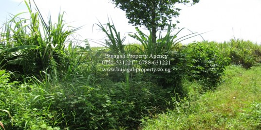 4.5 ACRES OF LAND FOR SALE AT BUJAGALI AREA NAMIZI VILLAGE