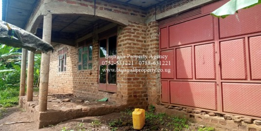 THREE BEDROOM SEMI COMPLETE HOUSE FOR SALE IN JINJA CITY