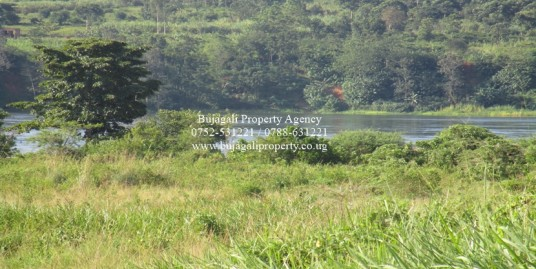 ONE ACRE LAND WITH VIEWS OF RIVER NILE FOR SALE AT WAKISI