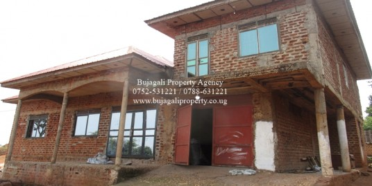 THREE BEDROOM SEMI-COMPLETE RESIDENTIAL HOME AT BUGEMBE